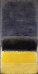 Untitled Blue Dark Yellow 1950 - Mark Rothko
