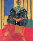 Seated Ruffian 1916 - Henri Matisse
