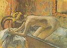 Woman Leaving the Bath 1886 - Edgar Degas