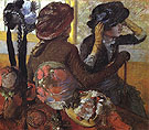 At the Milliners 1882 - Edgar Degas