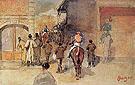 Leaving the Paddock 1866 - Edgar Degas