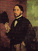 Self Portrait 1863 - Edgar Degas