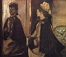 Portrait of Mme Jeantaud at the Mirror 1875 - Edgar Degas