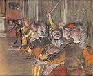 The Chorus 1877 - Edgar Degas