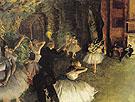 Ballet Rehearsal on Stage 1874 - Edgar Degas