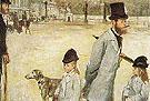 Place de la Concorde 1876 - Edgar Degas