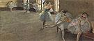 The Dance Lesson 1880 - Edgar Degas