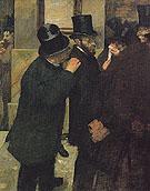 At the Stock Exchange 1878 - Edgar Degas