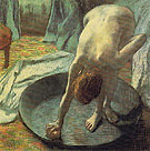 The Tub 1885 - Edgar Degas