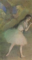 Ballet Dancer on Stage 1885 - Edgar Degas