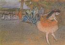 Ballet Scene 1887 - Edgar Degas