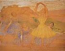 Group of Dancers 1894 - Edgar Degas