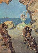 Dancer on Stage 1894 - Edgar Degas