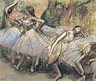 Dancers 1897 - Edgar Degas