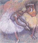 Two Dancers 1989 - Edgar Degas