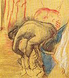 After the Bath 1903 - Edgar Degas