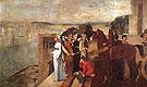 Semiramis Building Babylon 1860 - Edgar Degas