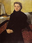 Portrait of Josephine Gaujelin - Edgar Degas