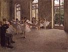 The Rehearsal 1873 A - Edgar Degas