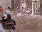 The Dance School 1874 - Edgar Degas