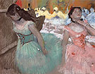The Entrance of the Masked Dancers 1884 - Edgar Degas