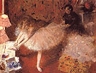 Dancer in her Dressing Room 1890 - Edgar Degas