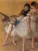 Dancer Examination 1880 - Edgar Degas