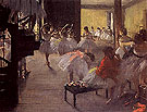 The School of Ballet 1873 - Edgar Degas