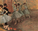Dancers in Blue 1882 - Edgar Degas