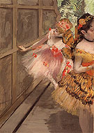 Dancers in Wings 1880 - Edgar Degas