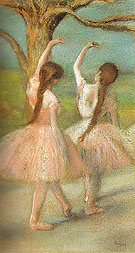 Dancers in Pink 1885 - Edgar Degas