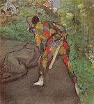 Harlequin 1885 - Edgar Degas
