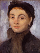 Madame Gaujelin 1867 - Edgar Degas