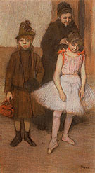 The Manet Family 1884 - Edgar Degas
