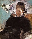 Portrait of Woman Mlle Malo 1868 - Edgar Degas