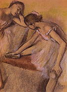 Dancers in Repose 1898 - Edgar Degas