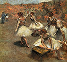 Dancers on the Stage 1889 - Edgar Degas