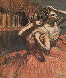 Two Dancers 1895 - Edgar Degas