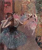 Ballet Scene 1878 - Edgar Degas