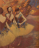 Three Dancers in Yellow Skirts 1899 - Edgar Degas