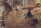The Rehearsal 1874 - Edgar Degas