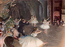 The Rehearsal on the Stage 1874 - Edgar Degas