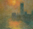 The Houses of Parliament Sunset 1904 - Claude Monet