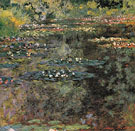 The Water Lily Pond Giverny 1904 - Claude Monet