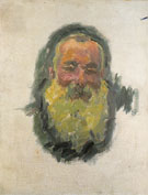 Self Portrait 1917 - Claude Monet