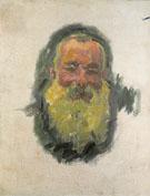 Self Portrait 1917 - Claude Monet