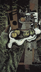 Fruit on a Tablecloth with Fruit Dish 1925 - Georges Braque