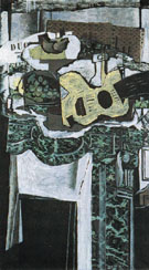 The Mantelpiece 1922 - Georges Braque