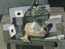 Still Life with Clarinet 1927 - Georges Braque