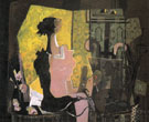 Woman at an Easel 1936 - Georges Braque